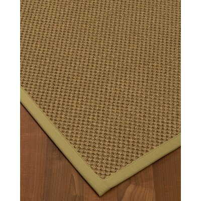 Escamilla Hand-Woven Beige Area Rug Rug Size: Rectangle 4 x 6