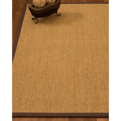 Badger Hand-Woven Beige Area Rug Rug Size: Rectangle 8 x 10