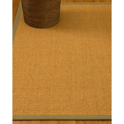 Hersey Hand-Woven Beige Area Rug Rug Size: Rectangle 6 x 9