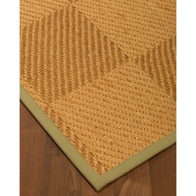 Escalera Hand-Woven Beige/Brown Area Rug Rug Size: Rectangle 5 x 8
