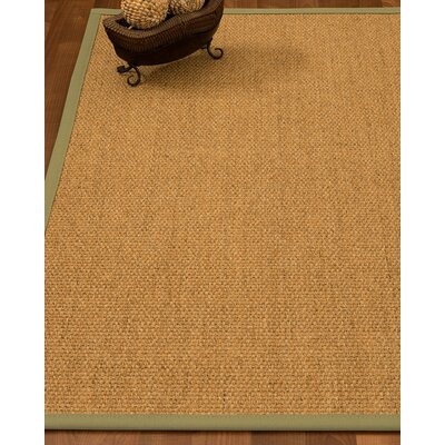 Badger Hand-Woven Beige Area Rug Rug Size: Rectangle 9 x 12