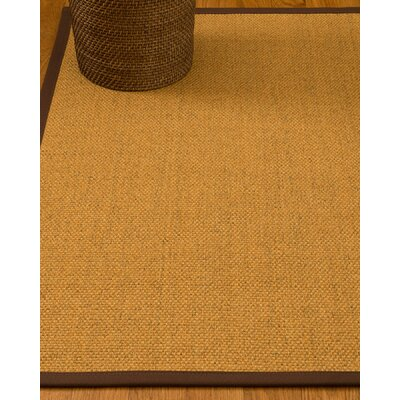 Hersey Hand-Woven Beige Area Rug Rug Size: Rectangle 5 x 8