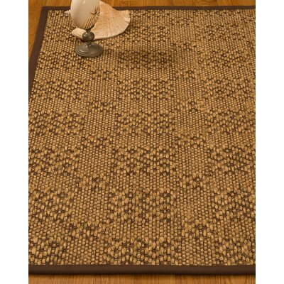 Bischoffs Hand-Woven Brown Area Rug Rug Size: Rectangle 3 x 5