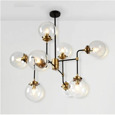 Courtdale 8-Light LED Sputnik Chandelier