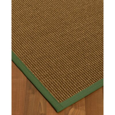 Kimbolton Hand-Woven Brown Area Rug Rug Size: Rectangle 4 x 6