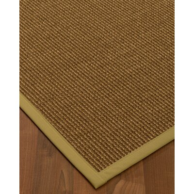 Kimbolton Hand-Woven Brown Area Rug Rug Size: Rectangle 8 x 10