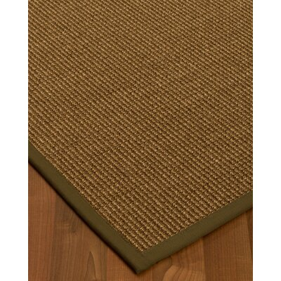 Kimbolton Hand-Woven Brown Area Rug Rug Size: Rectangle 6 x 9