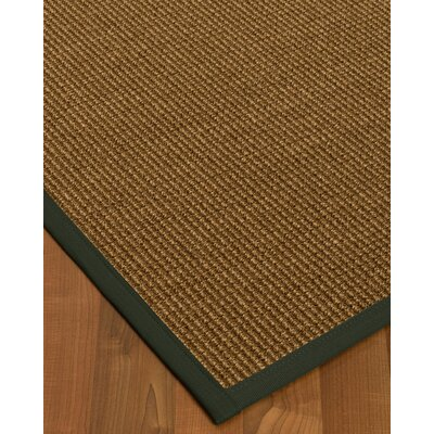 Kimbolton Hand-Woven Brown Area Rug Rug Size: Rectangle 2 x 3