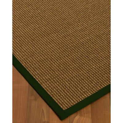 Kimbolton Hand-Woven Brown Area Rug Rug Size: Rectangle 3 x 5