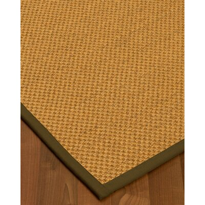 Halter Hand-Woven Beige Area Rug Rug Size: Rectangle 2 x 3