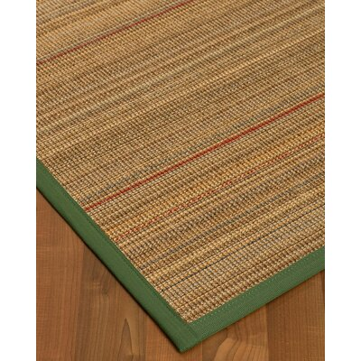 Kimble Hand-Woven Beige Area Rug Rug Size: Rectangle 6 x 9