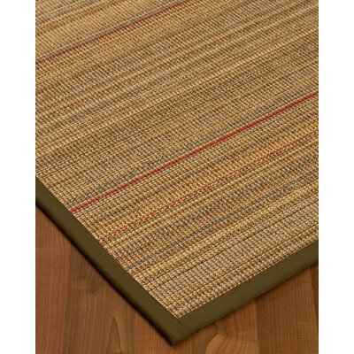 Kimble Hand-Woven Beige Area Rug Rug Size: Rectangle 2 x 3
