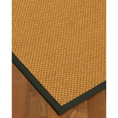 Halter Hand-Woven Beige Area Rug Rug Size: Rectangle 6 x 9