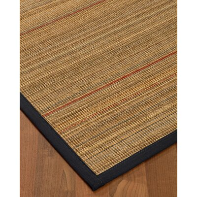 Kimble Hand-Woven Beige Area Rug Rug Size: Rectangle 4 x 6