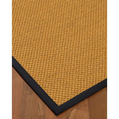 Halter Hand-Woven Beige Area Rug Rug Size: Rectangle 8' x 10'