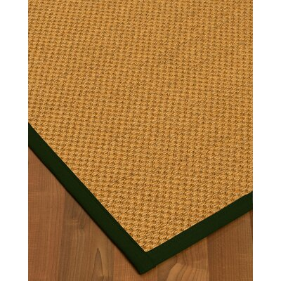 Halter Hand-Woven Beige Area Rug Rug Size: Rectangle 3' x 5'