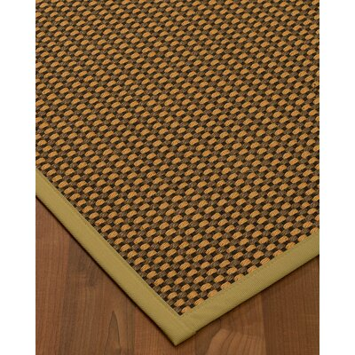 Kimbrel Hand-Woven Brown Area Rug Rug Size: Runner 25 x 8