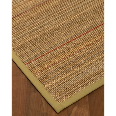 Kimble Hand-Woven Beige Area Rug Rug Size: Rectangle 5 x 8