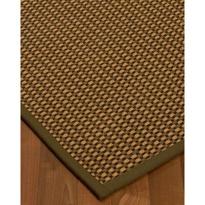 Kimbrel Hand-Woven Brown Area Rug Rug Size: Rectangle 3 x 5