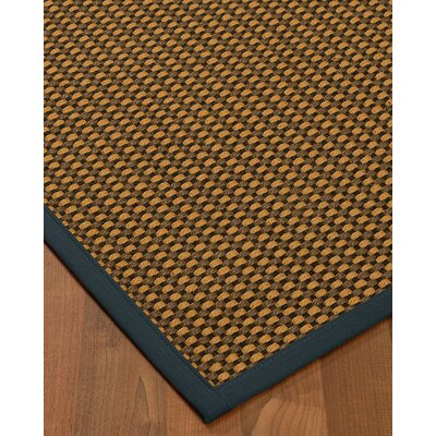 Kimbrel Hand-Woven Brown Area Rug Rug Size: Runner 2'5