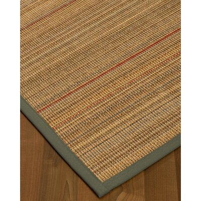 Kimble Hand-Woven Beige Area Rug Rug Size: Rectangle 8 x 10