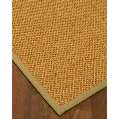 Halter Hand-Woven Beige Area Rug Rug Size: Rectangle 9 x 12