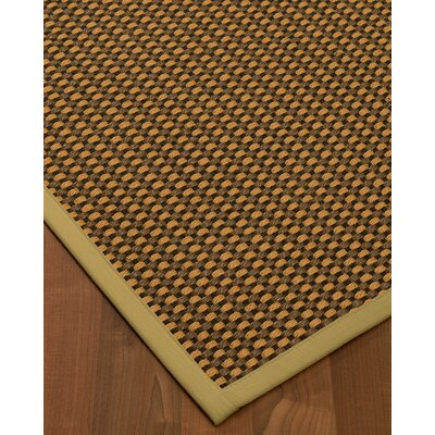 Kimbrel Hand-Woven Brown Area Rug Rug Size: Rectangle 12 x 15