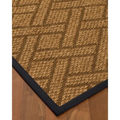 Kimbro Hand-Woven Beige Area Rug Rug Size: Rectangle 6 x 9