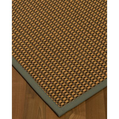 Kimbrel Hand-Woven Brown Area Rug Rug Size: Rectangle 8 x 10
