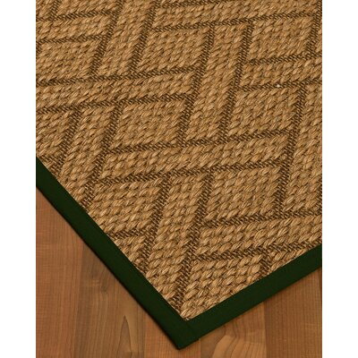 Kimbro Hand-Woven Beige Area Rug Rug Size: Rectangle 4 x 6