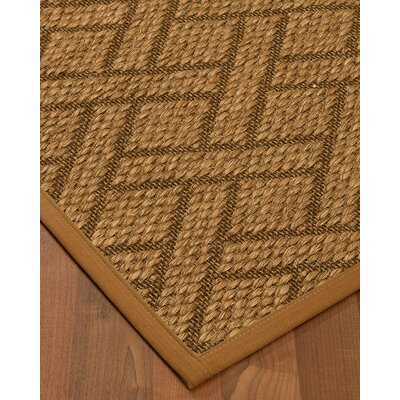 Kimbro Hand-Woven Beige Area Rug Rug Size: Rectangle 9 x 12