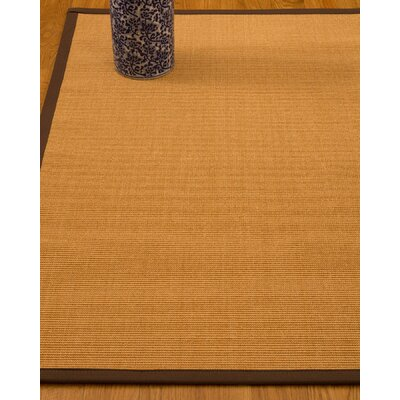 Gregory Hand-Woven Beige Area Rug Rug Size: Rectangle 8 x 10