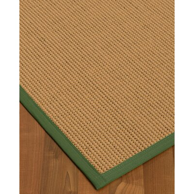 Badham Hand-Woven Wool Beige Area Rug Rug Size: Rectangle 12 x 15