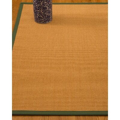 Gregory Hand-Woven Beige Area Rug Rug Size: Rectangle 3 x 5