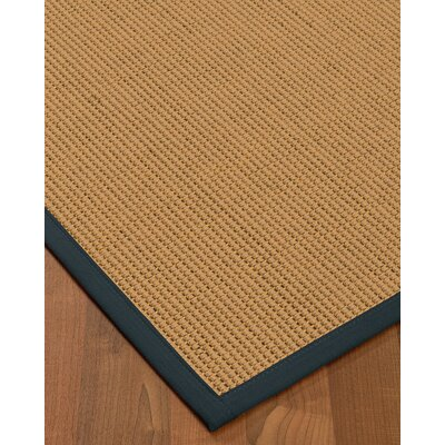 Badham Hand-Woven Wool Beige Area Rug Rug Size: Rectangle 3 x 5