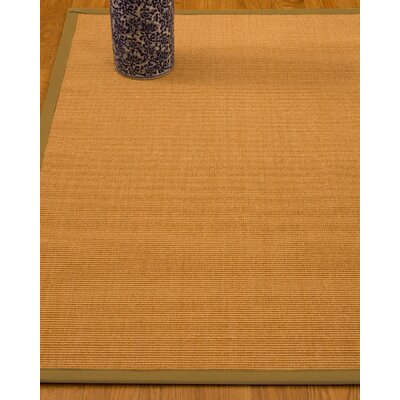 Gregory Hand-Woven Beige Area Rug Rug Size: Rectangle 4 x 6