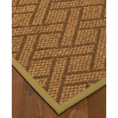 Kimbro Hand-Woven Beige Area Rug Rug Size: Rectangle 8 x 10