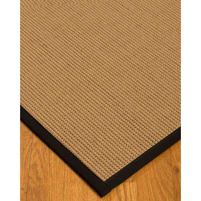 Badham Hand-Woven Wool Beige Area Rug Rug Size: Rectangle 2 x 3