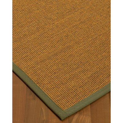 Halsted Hand-Woven Beige Area Rug Rug Size: Rectangle 2 x 3