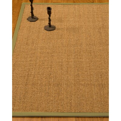 Escalante Hand-Woven Beige Area Rug Rug Size: Rectangle 4 x 6