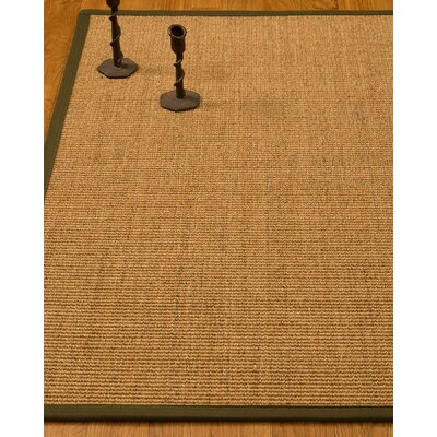 Escalante Hand-Woven Beige/Malt Area Rug Rug Size: Rectangle 6 x 9