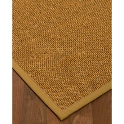 Halsted Hand-Woven Beige Area Rug Rug Size: Rectangle 3 x 5