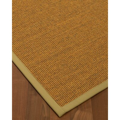 Halsted Hand-Woven Beige Area Rug Rug Size: Rectangle 4 x 6