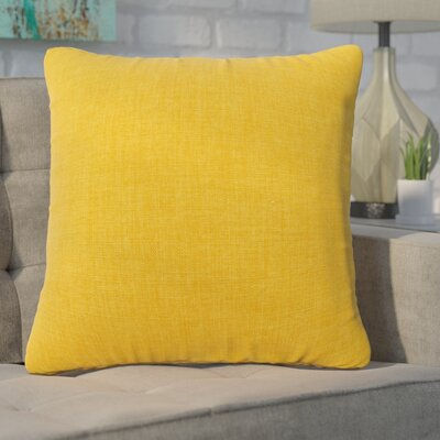 Phoebe Decorative Indoor Throw Pillow Color: Yellow