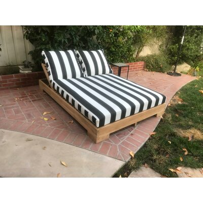 User friendly Double Reclining Chaise Lounge Cushion Product Photo