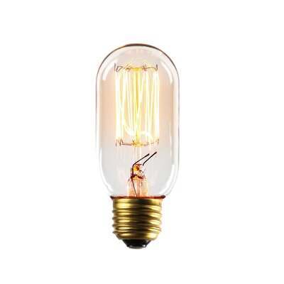 40W E26/Medium Incandescent Vintage Filament Light Bulb