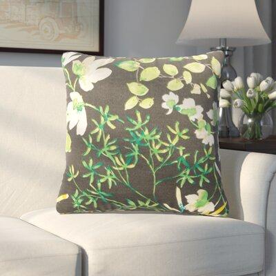 Coppedge Floral Outdoor Throw Pillow