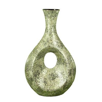Shirlee Egg Crack Floor Vase