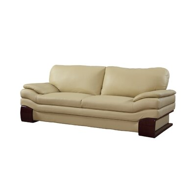 Hawthorn Luxury Upholstered Living Room Sofa Upholstery: Beige