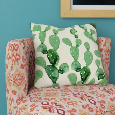 Brunelle Cactus Columns Throw Pillow Size: 18 H x 18 W x 3 D